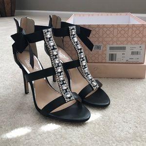 Badgley Mischka Jewel high heel sandals
